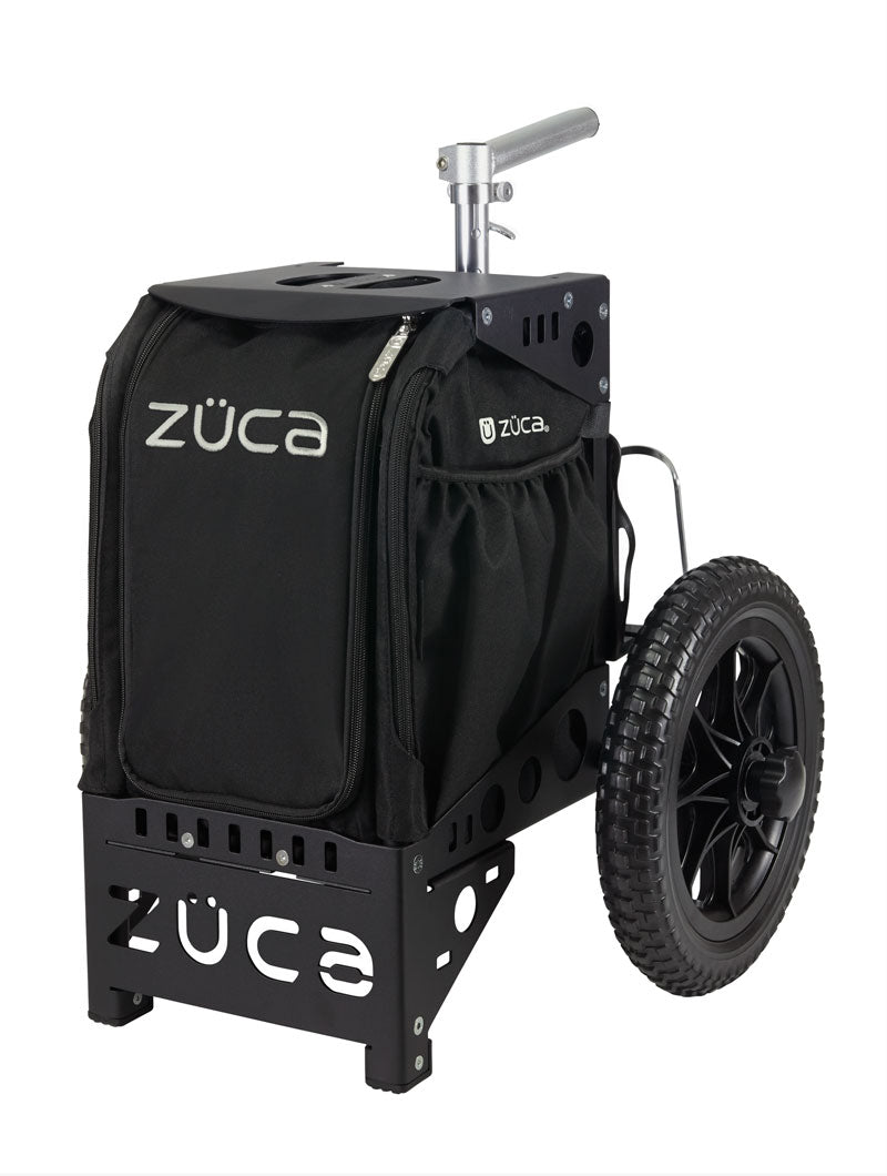 Zuca Compact Disc Golf Cart w/ Mini Pouch Duo Black