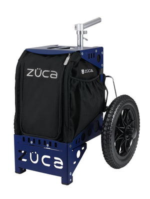 Zuca Compact Disc Golf Cart w/ Mini Pouch Duo Navy