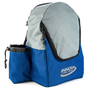 Innova DISCover Disc Golf Backpack Blue-Gray