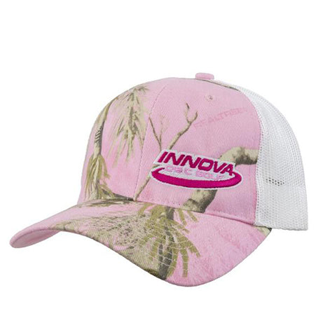 Innova Realtree Pink Camo Adjustable Disc Golf Hat Pink Camo