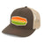 Innova Striped Bar Patch Snapback Mesh Disc Golf Cap Brown-Khaki