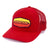 Innova Striped Bar Patch Snapback Mesh Disc Golf Cap Red