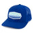 Innova Striped Bar Patch Snapback Mesh Disc Golf Cap Royal