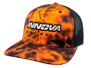 Innova Unity Kryptec® Adjustable Mesh Cap Inferno Orange