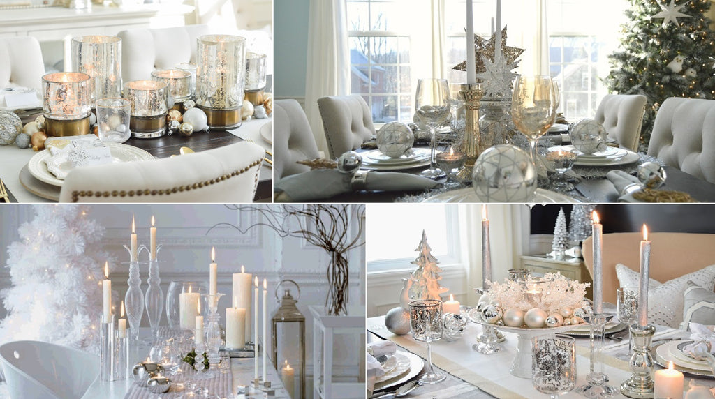 Trends Tagged White Silver And Gold Home Christmas Decor Belle