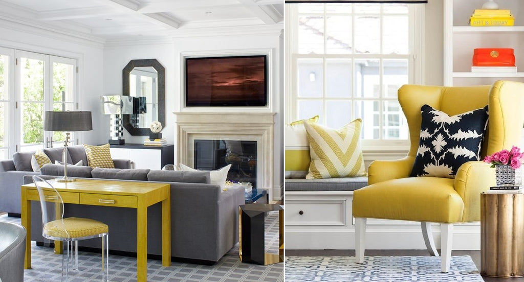 Grey and Yellow Colour Trend