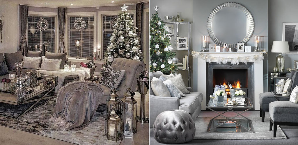 White Silver And Gold Are The Essential Colours For Christmas Time Whether Alone Or Combined These Perfect To Create A Glamourous Holy