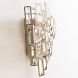 CLARIDGE - Glamour Wall Light, Crystal Champagne Finish Wall Lamp-Wall Light-Belle Fierté