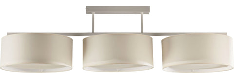 3 Light Cream Shade Plafon Ceiling Lamp-Chandelier-Belle Fierté