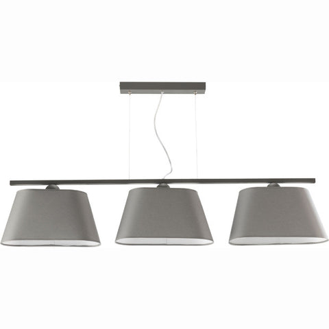 Grey 3 Light Modern Dining Table/ Island Ceiling Lamp-Ceiling Lamp-Belle Fierté
