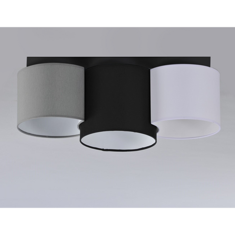 3 Light Shade Modern Plafon Ceiling Lamp-Ceiling Lamp-Belle Fierté