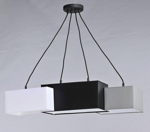 3 Light Dining Table, Breakfast Bar Suspended Lamp-Ceiling Lamp-Belle Fierté