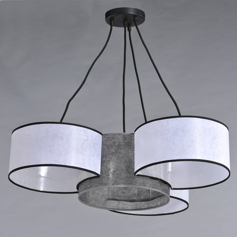Damon - 4 Light Modern Ceiling Lamp-Ceiling Lamp-Belle Fierté