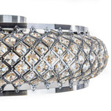 Eva - Luxury Flush Ceiling Light, Elegant Crystal Chandelier - Belle Fierté