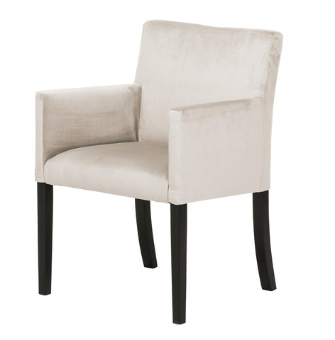 Alexis - Accent Chair, Velvet Occasional Chair-Chair-Belle Fierté