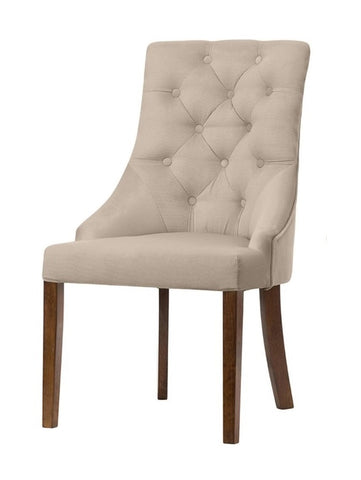 Munich - Chesterfield Dining Chair-Chair-Belle Fierté