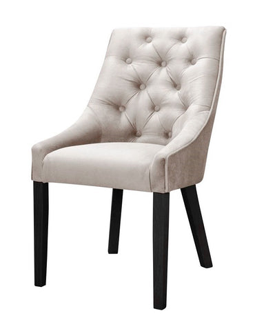 Donna - Chesterfield Velvet Dining Chair-Chair-Belle Fierté