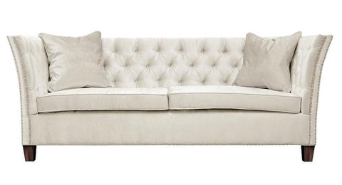 Loara - 2 Seater Chesterfield Velvet Sofa-Sofa-Belle Fierté