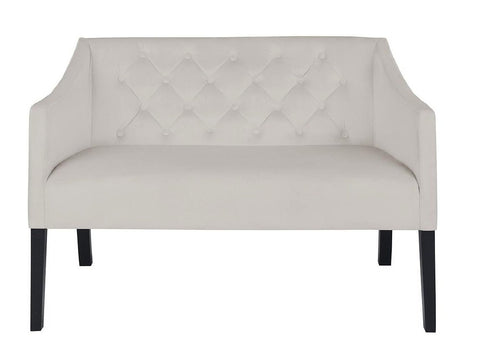Valencia - Velvet Dining Bench-Benches & Ottomans-Belle Fierté
