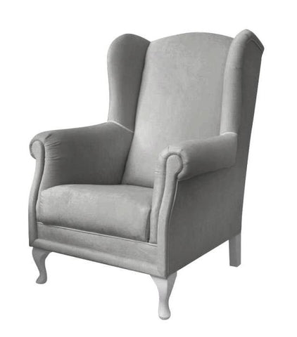 Alma - Wing Armchair, Nursery Chair-Armchair-Belle Fierté
