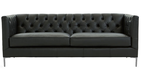 Constanza - Modern Genuine Italian Leather Sofa-Sofa-Belle Fierté