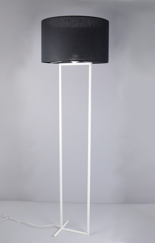 Laure - Black Shade Floor Standing Lamp-Floor Lamp-Belle Fierté