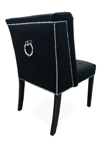 Brenda - Glamour Knocker Dining Chair, Accent Chair-Chair-Belle Fierté