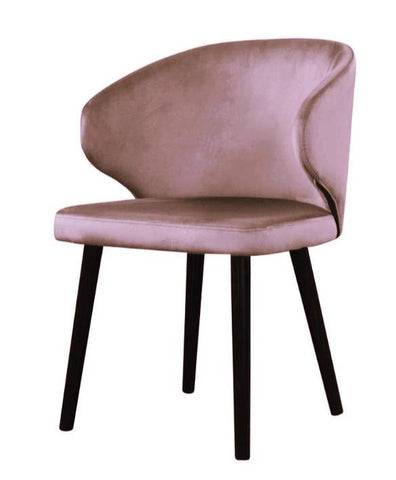 Carson - Contemporary Velvet Dining Chair-Chair-Belle Fierté