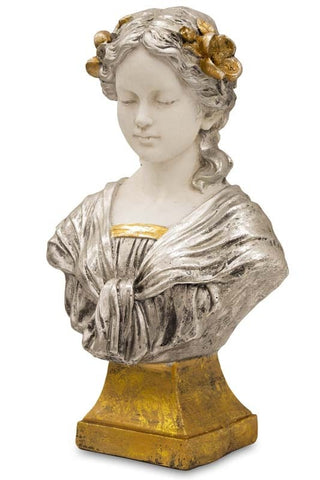 Maria - Bust Sculpture-Vases & Ornaments-Belle Fierté