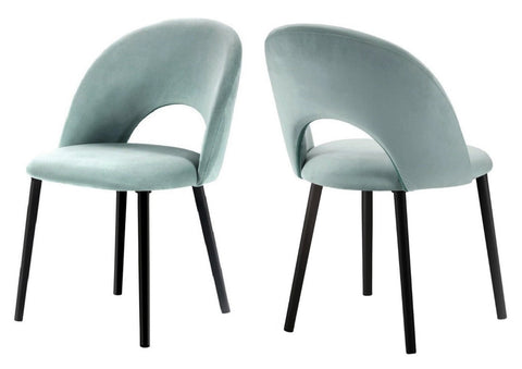 Catania - Mint Velvet Dining Chair, Set of 2-Chair Set-Belle Fierté