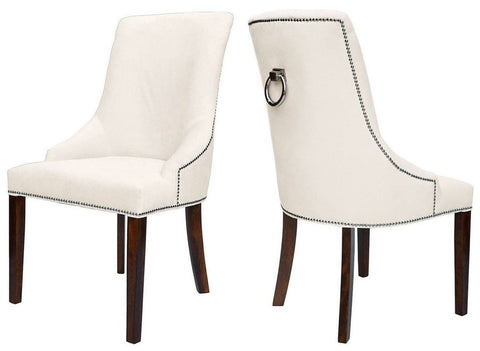 Colyers - Cream Knocker Dining Chair, Set of 2-Chair Set-Belle Fierté