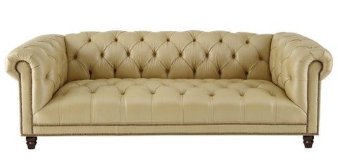 Maryland - Genuine Italian Leather 3 Seater Chesterfield Sofa-Sofa-Belle Fierté