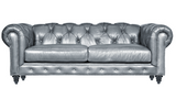 Mia - Chesterfield Genuine Italian Leather Sofa - Belle Fierté