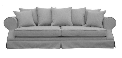 Homerton - Hamptons Style 3 Seater Fabric Sofa-Sofa-Belle Fierté