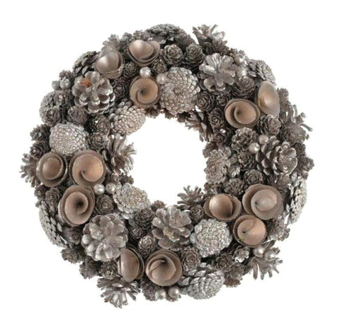 Door Wreath - Cone Christmas Home Door Decoration-Christmas Decorations-Belle Fierté