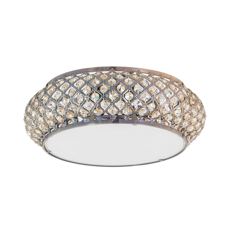 Ella - Luxury Flush Ceiling Light, Elegant Crystal Chandelier-Ceiling Lamp-Belle Fierté