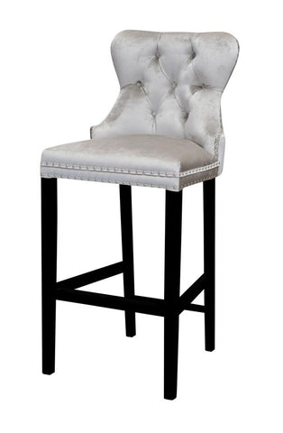 Kenley - Elegant Breakfast Bar Chair, Chesterfield Kitchen Stool-Bar chair-Belle Fierté