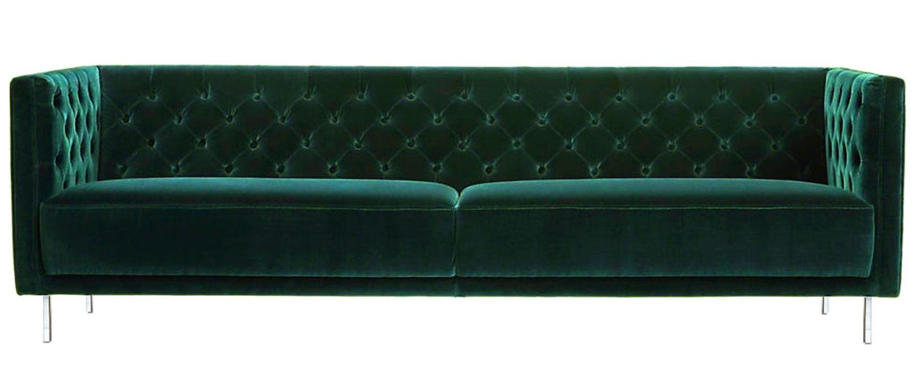 Bolton - Contemporary Chesterfield Velvet Sofa