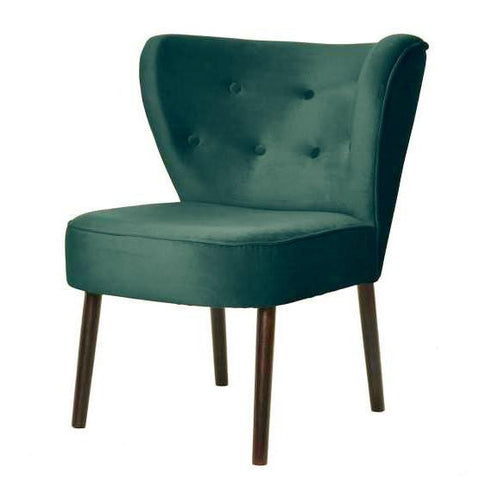 Celia - Scandinavian Occasional Chair, Retro Coctail Chair-Chair-Belle Fierté