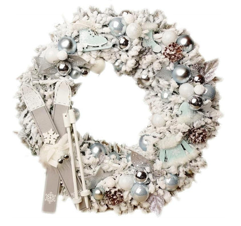 Door Wreath - Luxury Christmas Home Door Decoration-Christmas Decorations-Belle Fierté