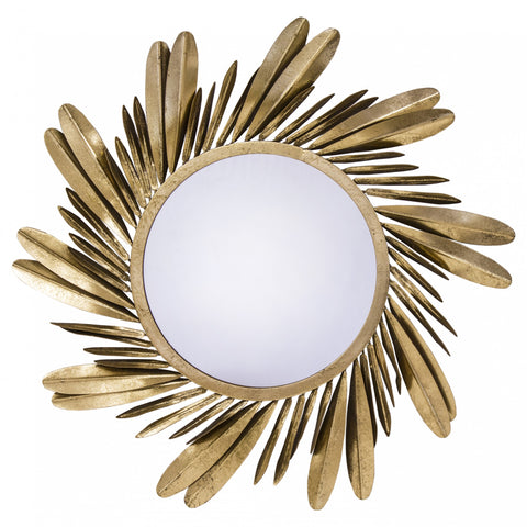 Franco - Metal Art Mirror, House Wall Decoration-Mirrors-Belle Fierté