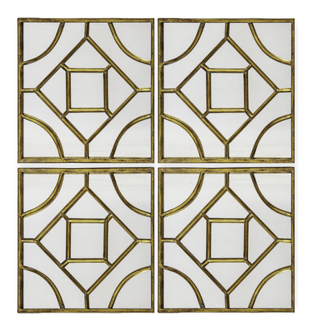Iker - Contemporary Metal Mirror, House Wall Decoration-Mirrors-Belle Fierté