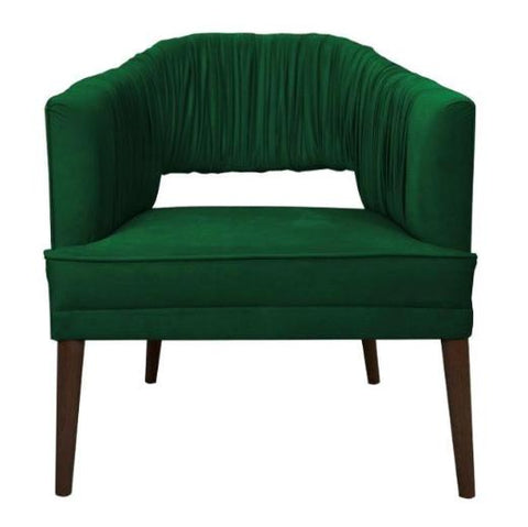 Pepe - Velvet Accent Chair, Modern Occasional Chair-Chair-Belle Fierté