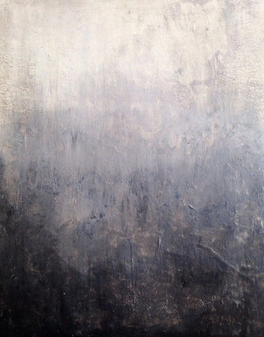 "Abstract Canvas Painting, Handmade Acrylic Painting - ""Grey""-Wall art-Belle Fierté"