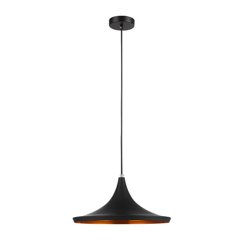 Lisa -Black Industrial Ceiling Pendant Lamp-Ceiling Lamp-Belle Fierté