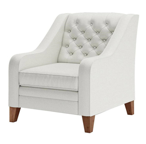 Kinsley - Elegant Chesterfield Armchair, Occasional Chair-Armchair-Belle Fierté