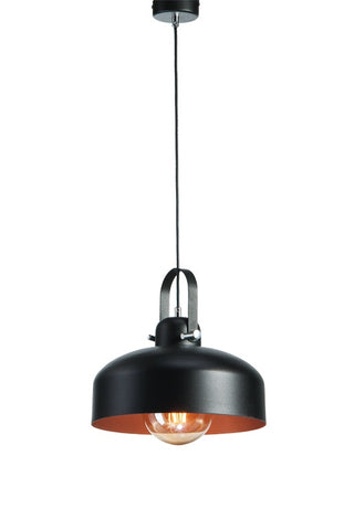 Timeo - Black Industrial Kitchen Pendant Light-Ceiling Lamp-Belle Fierté