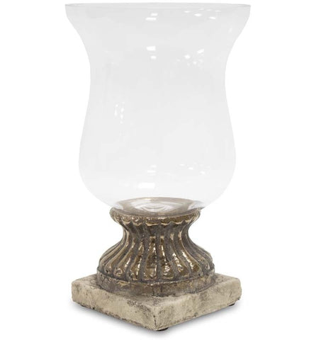 Naomi- Glass Candle Holder, Chic Home Decoration-Christmas Decorations-Belle Fierté