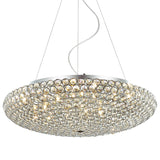Ida- Luxury Oversized Ceiling Lamp, Elegant Crystal Chandelier-Ceiling Lamp-Belle Fierté
