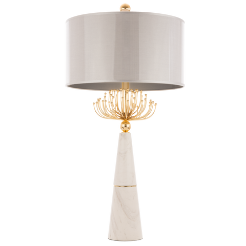 GIOELE - Glamour Table Lamp, Luxury Marble Table Lamp-Table Lamp-Belle Fierté